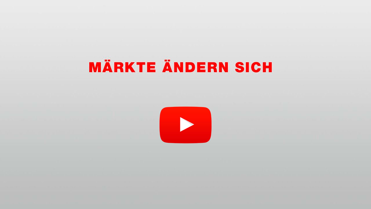 Märkte ändern sich