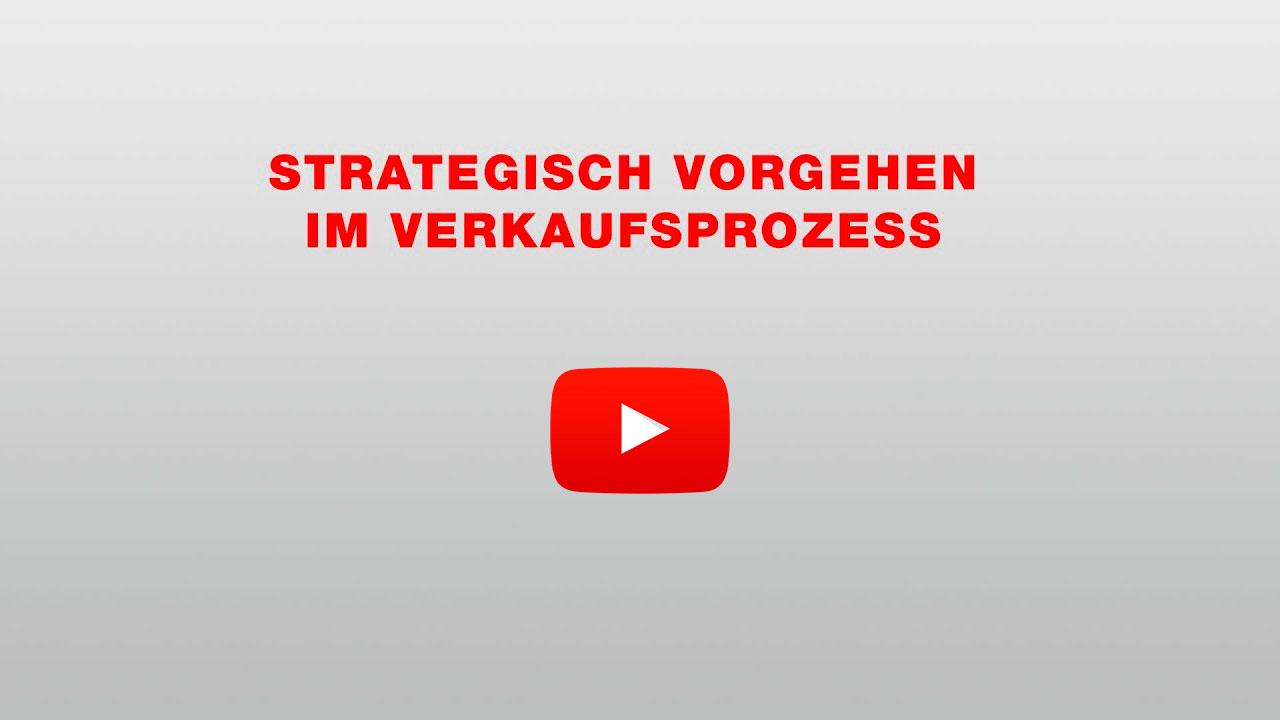 Strategisches Vorgehen im Verkaufsprozess